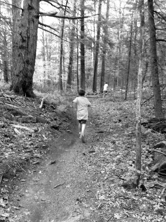 kids trail running trail