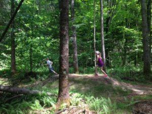 kids trail running