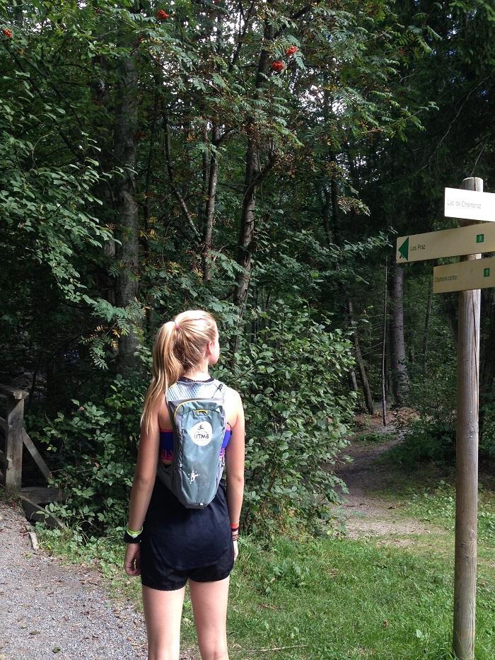 kids trail running chamonix alps france