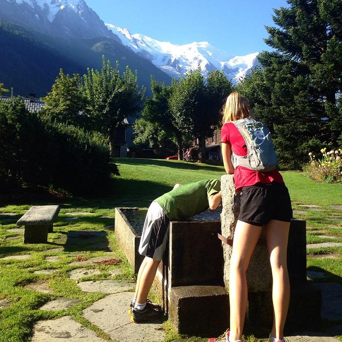 trail running kids alps france chamonix