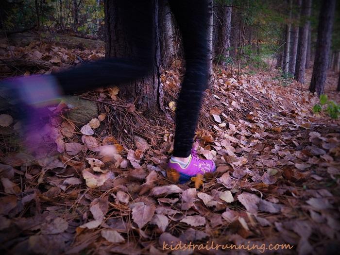 fall trail running