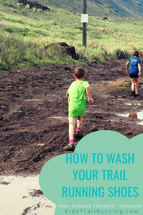 how to wash trail running shoes sneakers trainers