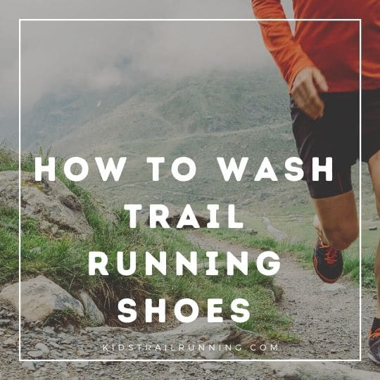 how to wash trail running shoes